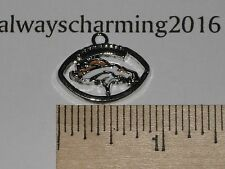 """1 DENVER BRONCOS INSPIRED 15/16"""" CHARMS FOR JEWELRY NECKLACES, BRACELET EARRINGS"""