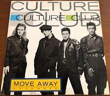 "CULTURE CLUB Move Away DISCO MIX *RARE 1986 BRAZIL 12"" DJ PROMO VINYL Boy George"