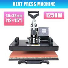 Press Machine Printer 12x15in. 30x38cm Heat Transfer UPGRADE T-shirt