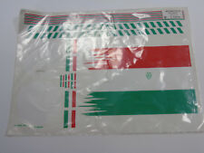 724105 Multiplex MPX Green White Red Sticker Decal Sheet For: Twin-Jet RC Plane