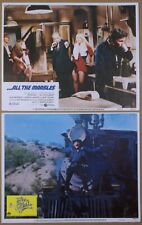 Lot of 13 1970's-80's LOBBY CARDS~When Time Ran Out~ONION FIELD~Four Deuces~more