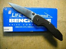 Benchmade Oregon City ,OR USA  825 Ascent Drop Point Knife PROTOTYPE 1999