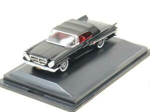 Oxford Diecast 87CC61002 Chrysler 300 Convertible 1961 Black 1 87 Scale Boxed