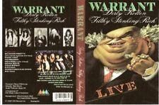 warrant dirty rotten stinkin rich dvd 1989 dokken van halen white lion