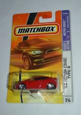 2008 MATCHBOX METRO RIDES '08 HONDA CIVIC TYPE R RED # 26 VHTF !!