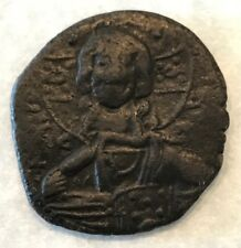 Byzantine Empire 867-886 Ad Copper 1 Follis Emperor Basil I Fully Detailed Rare