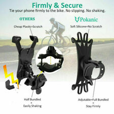 Bicycle Motorcycle MTB Bike Handlebar Silicone Mount Holder for Cell Phone GPS