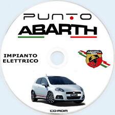 """Abarth Grande Punto manuale officina """"IMPIANTO ELETTRICO"""""""