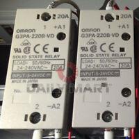 NEW Omron G3PA-220B-VD DC5~24V SSR DIN 20A 1-Pole Solid State Relays FREE SHIP