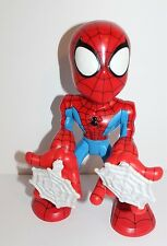 """Spider-Man & Friends Action Figure Battery Operated Toy Marvel 2006 12"""""""