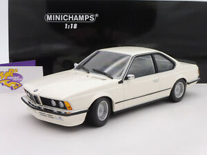 "Minichamps 155028102 # BMW 635 CSi Coupe Baujahr 1982 in "" weiß "" 1:18 ab 1,- €"