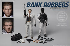 1/6 CRAFTONE Bank Robbers Criminal Crew (No.006A)