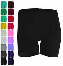 Mid 7-13 in. Inseam Cotton No Pattern Low Shorts for Women