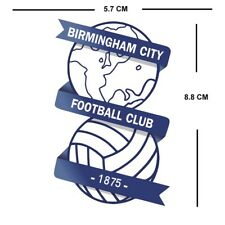 Set Of 3 Birmingham City Football Club Crest Iron On Badge For Fabric Material