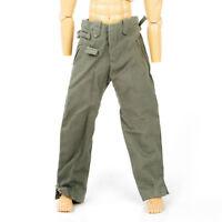 "1/6 Scale WWI German Soldier Pants Clothes Model Male Trousers Fit 12"" Fugure"
