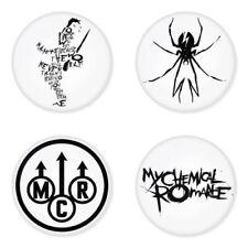 My Chemical Romance, D - 4 chapas, pin, badge, button