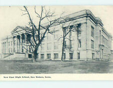 Unused Divided-Back HIGH SCHOOL Des Moines Iowa IA k0184