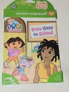 LeapFrog TAG & LeapReader. Dora the Explorer goes to school NEW (FREE SHIPPING)