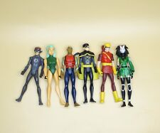 LOT OF 6 DC UNIVERSE YOUNG JUSTICE JLU flash robin Speedy AQUALAD figure 4""