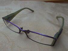 occhiali da vista donna GUESS GU1462 PURO 49 15-130 montature VERDE VIOLA BE