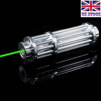 SGX3-A 1MW 532nm Adjustable Focus Green Laser Pointer Visible Lazer Torch Pen UK