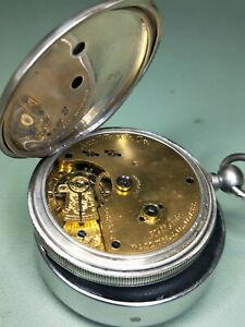 Old Waltham pocket watch Circa 1883