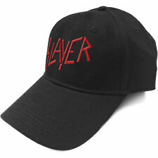 "SLAYER - ""CLASSIC RED LOGO"" - BASEBALL CAP - OFFICIAL PRODUCT"