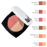 Avon mark. Dual Glow Cheek Colour & Highlighter Blusher Blush // Various Shades