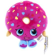 "NEW OFFICIAL 9"" SHOPKINS SOFT TOY D'LISH DONUT PLUSH SOFT TOY"