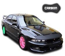 Hood Bra Mitsubishi Galant CARBON Car Bonnet Mask Cover Front End protection NEW