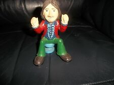 THE BEATLES MODEL RESIN FIGURE RINGO STARR SADLY MISSING HIS DRUMS AND STICKS