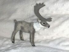 New Caribou Faux Fur Christmas Decoration Deer Reindeer Antlers Ornament Craft