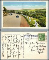 NEW YORK Postcard - Camillus Hill Seen From Route 5 near Syracuse O35