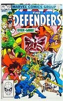 Marvel DEFENDERS (1982) #112 SIGNED by Don PERLIN w/COA VF+ (8.5) Ships FREE!
