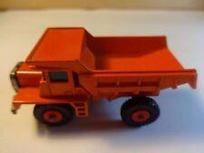 Matchbox #28 Orange Mack Dump Truck 1970 Black Wheels - Loose & Nice