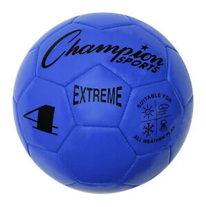 Extreme Series Size 4 Soccer Ball, Royal Blue