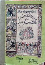LA SAGE FEMME ET LES SEPT JEUNES FILLES, chez OLLENDORFF en 1900 / EO