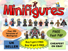 Super Hero Mini figure Marvel + FREE BASE UK Superheroes Minifigures TOY BRICKS