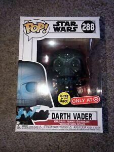 Funko Pop! #288 Star Wars Darth Vader Target Exclusive **READ**