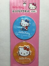 Sanrio 2007 Hello Kitty Two 3D Sheet Magnets New In Package