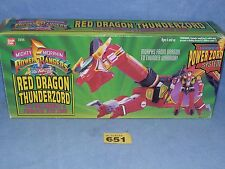 POWER RANGERS RED DRAGON THUNDERZORD BOXED ALL PARTS 651