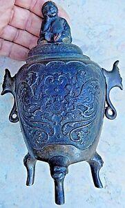 BRULE PARFUM CHINOIS ANCIEN EN BRONZE / OLD CHINA