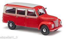 Busch 51250, Framo V901/2 Bus rouge, H0 Auto Modèle 1:87