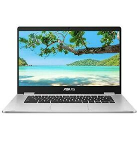 "Asus C523NA 15.6"" Chromebook 4 GB RAM 64GB Intel® Celeron® ChromeOS _ Silver New"