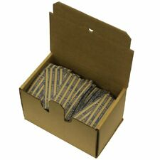 Coin-tainer Flat Coin Wrappers - Heavy Duty - Paper, Kraft - Blue (30005_40_2)