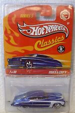 HOT WHEELS CLASSICS SERIES 5 - CHASE - FISH'D & CHIP'D CAR
