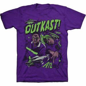 Outkast ATLiens Invasion T-Shirt Purple S - 3XL