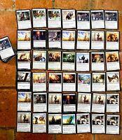 Lot de +/- 200 cartes Magic MTG différentes nombreuses unco différentes éditions