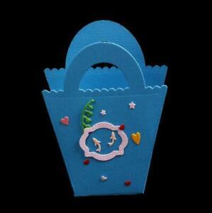 Christmas Gift Bag Craft Dies Metal Cutting Die Scrapbooking Embossing Ornaments