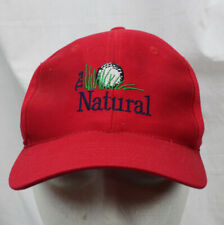 The Natural Golf Course Hat Gaylord Michigan Beaver Creek Resort Embroidered Red